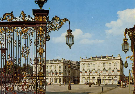 La Place Stanislas, � Nancy